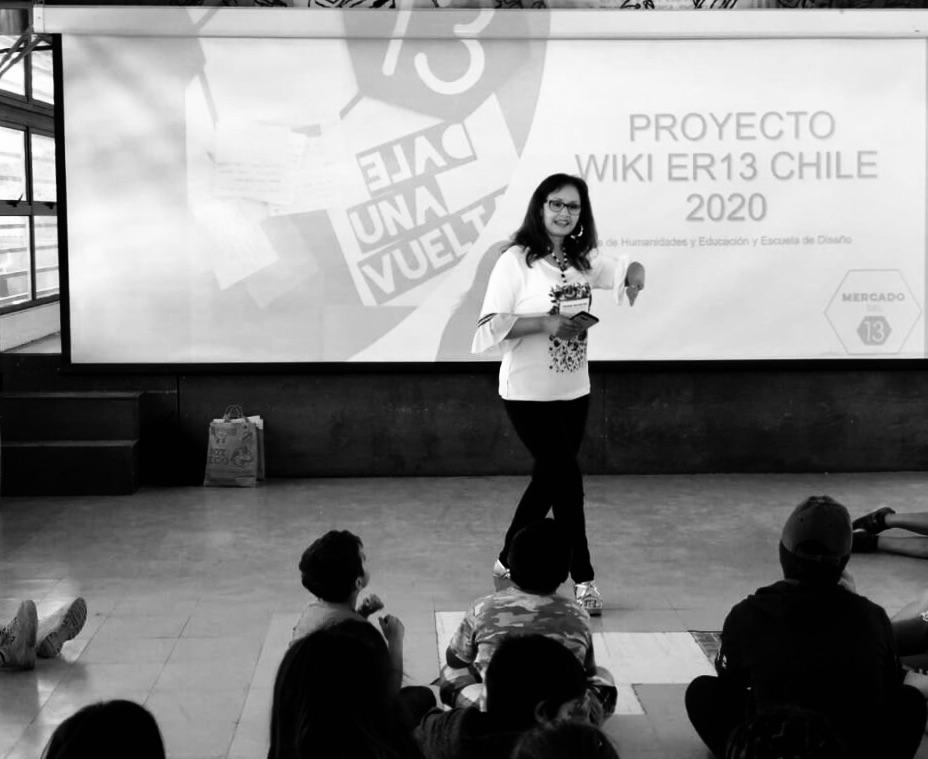 Antonieta desde Chile visibilizando las Enfermedades Raras #wiki ER13